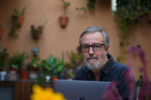 El fotógrafo argentino Marcelo Sastre, residente en Ibiza desde 2002.