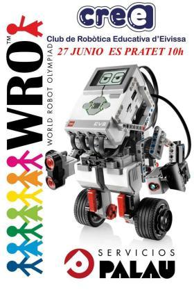 Es Pratet acoge este domingo el torneo local de la World Robot Olympiad.