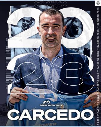 Juan Carlos Carcedo renueva con la UD Ibiza hasta 2023.