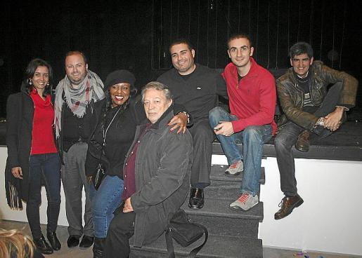 Pilar Llompart, Tommy Ferragut, Michelle Mcain, José Luis Ardura, Manu Blanco, Llorenç Cloquell y Joan Monse.