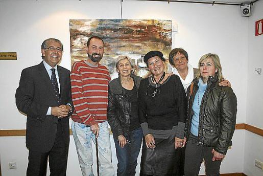 Daniel Samaniego, Miguel Ángel Guerreiro, Elena Patti, Silvia Brégar, Nora Fynje de Salverda y Cati Gelabert Niell.
