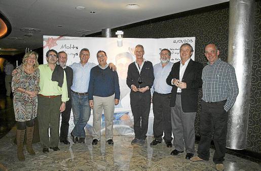 Macarena Mas, Guillermo Cifre, Antoni Font, Salvador Bertrán, Paco Sastre, Antoni Bertrán, Guillem Amengual, Miguel Bestard y Bartomeu Munar.