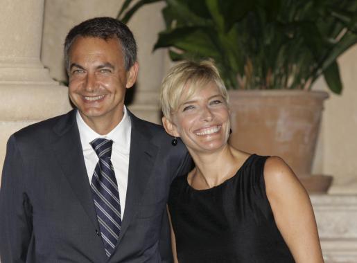 José Luis Rodríguez Zapatero y Sonsoles Espinosa, en una de sus visitas a Palma.