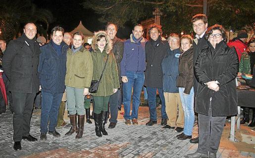 Antonio Bauzá, Jesús Valls, María Salom, María José Frau, José María Rodríguez, José Ramón Bauzá, Mateo Isern, Paco Frau, Tina Moranta, Martí Sansaloni y Catalina Cirer.