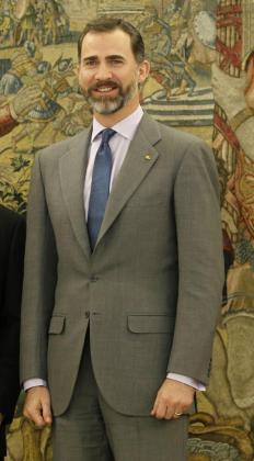 El príncipe Felipe de Borbón.
