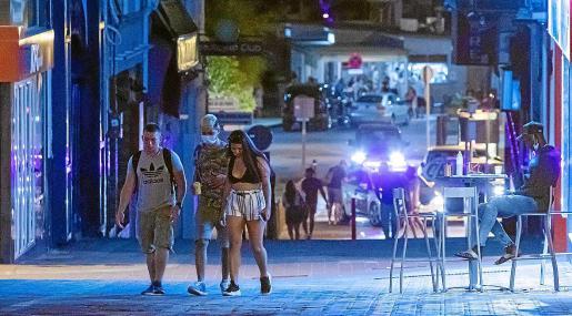 Una de las calles del West End en una imagen de julio de 2020.