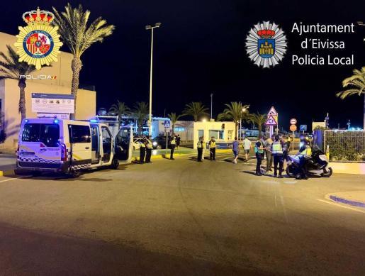 La Policía Local de Vila atendió uno de los atropellos del fin de semana.