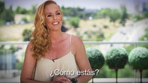 Rocio Carrasco este lunes en 'Sálvame'.