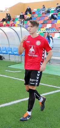 El nuevo jugador del CD Ibiza, Álvaro Ivorra.