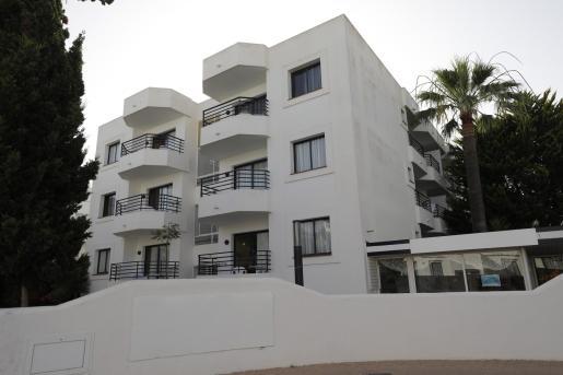 Imagen del único hotel puente que hay por el momento en Ibiza, el hotel La Noria de la cadena Playasol.