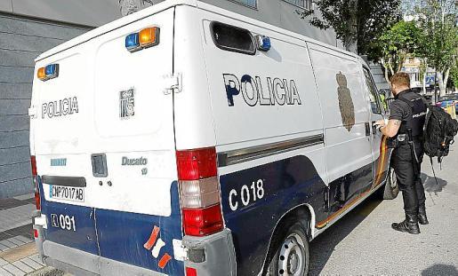 El acusado fue detenido por la Policía Nacional.