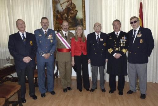 Juan Caridad, Carlos de Palma, Mariano Estaún, Conchita Ascaso, Miguel Contreras, José María Urrutia y Bernardí Martí.