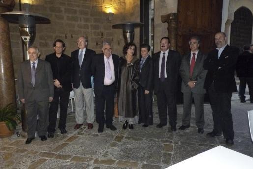 Sebastià Ginart, Carles Molinet, Claudio Biern Boyd, Pere A. Serra, Gina Garcías, Carmen Serra, Bernardí Seguí, Rogelio Aráujo y Rafel Vaquer.