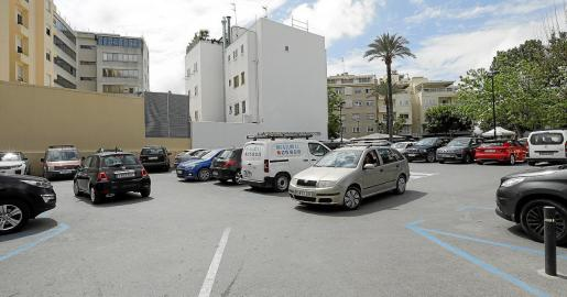 El solar de Ibiza destinado a VPO.