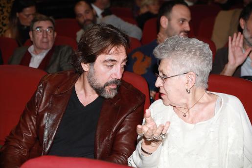 Javier y Pilar Bardem en una imagen de archivo.