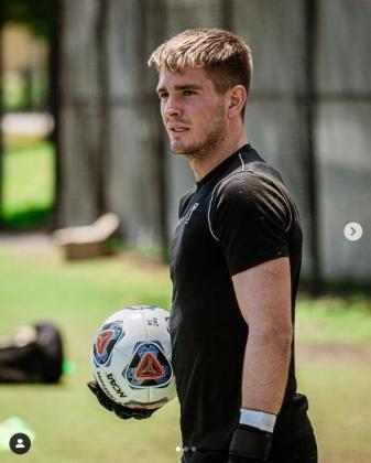 Niko Hartmann, nuevo portero de la Peña Deportiva.