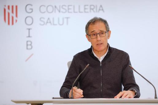 Javier Arranz es el portavoz del Comité Autonómico de Gestión de Enfermedades Infecciosas de Baleares.
