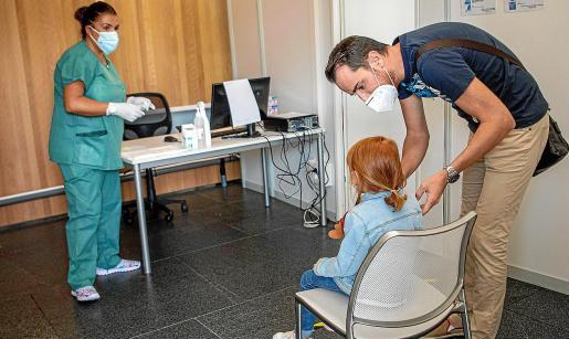 Salut abrió un punto de atención KidCovid en el hotel Melià Palma Bay, especializado en niños.