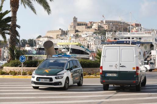 Los inmigrantes interceptados en Formentera fueron trasladados a Ibiza este martes por la mañana.