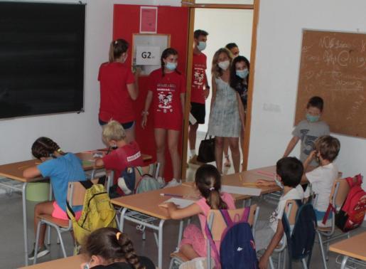 Imagen de archivo de la escuela de verano de Santa Eulària.