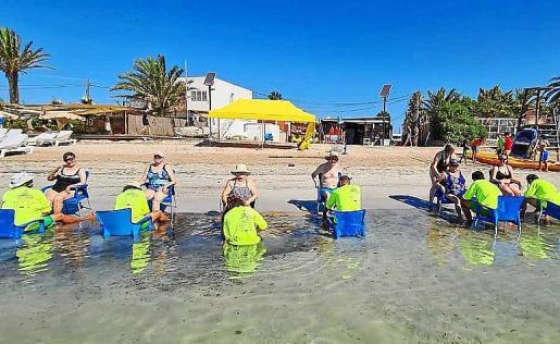 El programa del Club Náutico de Ibiza cuenta con el apoyo de la Fundación Abel Matutes, La Caixa, Valoriza, los ayuntamientos y el Consell d'Eivissa.