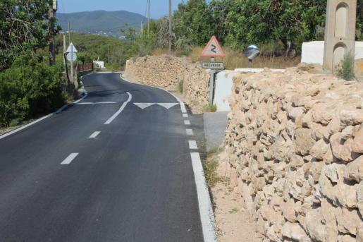Finalizadas las obras de reparación y mejora de la seguridad del Camí de Can Carlos de la Parròquia de Jesús.