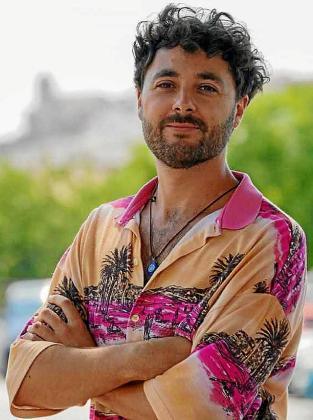 Pablo Roso fotografiado ayer por la mañana en Ibiza.
