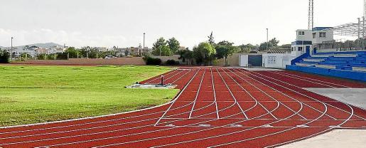 Una imagen de las pistas de atletismo de Can Misses.