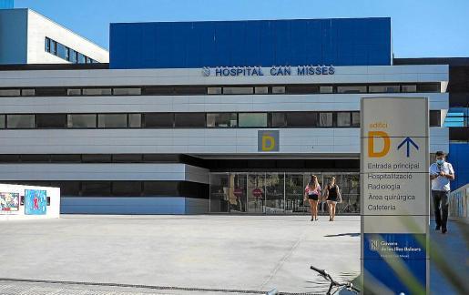 La entrada principal del hospital Can Misses.