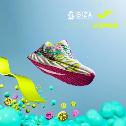 Santa Eulària Ibiza Marathon vuela con la nueva zapatilla oficial de la prueba.