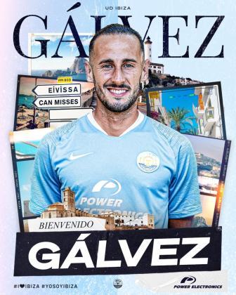 Alejandro Gálvez, nuevo jugador del Ibiza.