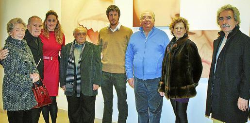 María Vich, Miguel Mulet, Rosa Vanrell, Pere Aguiló, Joan Aguiló, Gabriel Vanrell, Pura Louzao y Pepe Aguin.