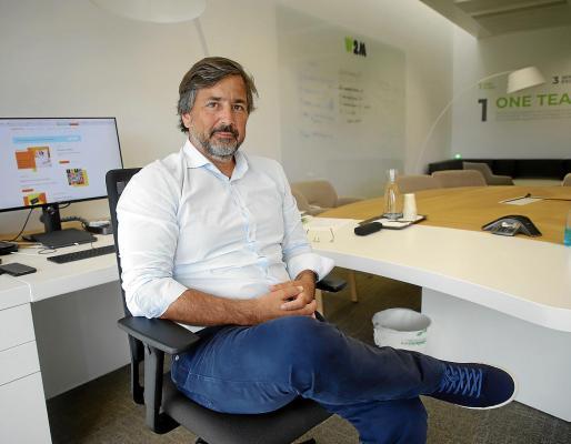 Gabriel Subías, en su despacho en W2M.