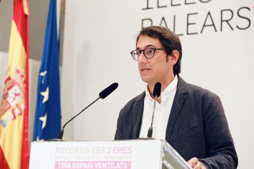 El conseller Iago Negueruela.