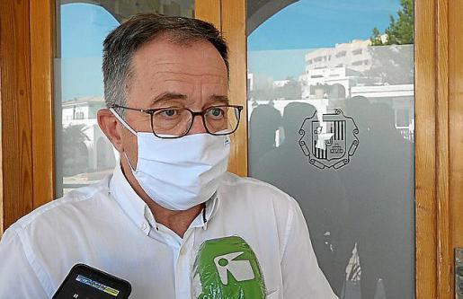 Josep Marí Ribas, secretario general de la FSE-PSOE.