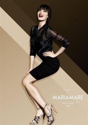 La guapa presentadora Pilar Rubio se ha convertido en la imagen de la firma de calzado MariaMare.