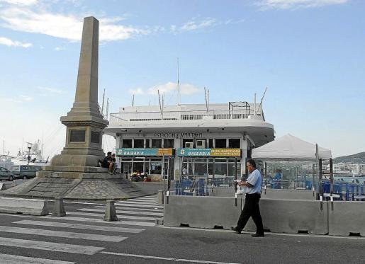 El futuro de lo que hoy es la estación marítima preocupa a los comerciantes.