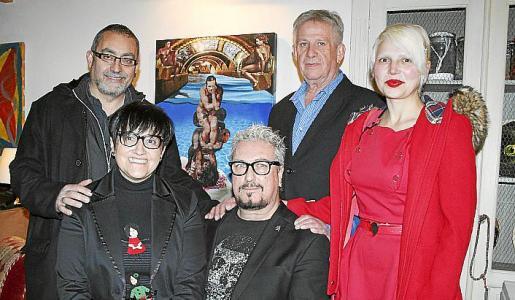 Toni de la Mata, Bel Matas, Jaime Roig de Diego, Francisco Pizá y Jana Llompart.