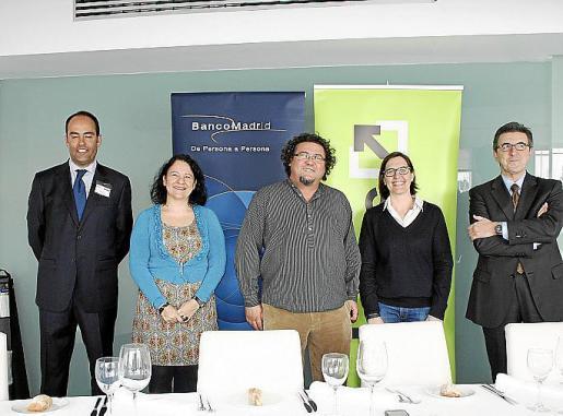 Nicolás Morey, Irene Llull, Miquel Àngel Cerdà, Paula Gual y Josete Ibáñez.