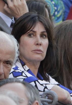 Carmen Martínez-Bordiú, en una imagen de archivo cuando presenciaba una corrida de toros en Madrid.