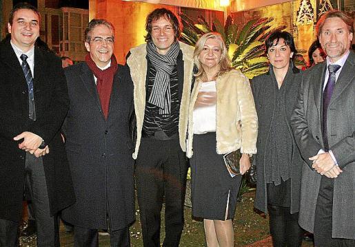 Bartomeu Cifre, Rafael Bosch, Josep Vicent, Isabel Cerdá, Ana María Rodríguez y Marcelino Minaya.