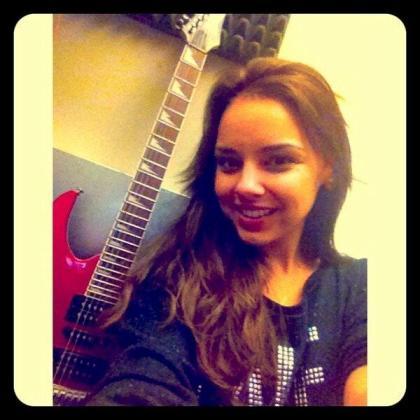 La cantante Chenoa.