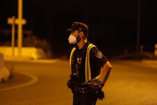 Agente de la Policía Local de Sant Josep.