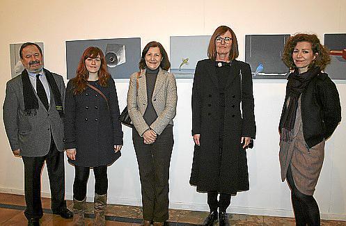 Vicente Rotger, Ana Cabello, Catalina Sureda, Dolores Sampol y Mercedes Estarellas.