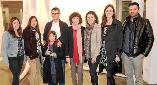 Mireia Bauzà, Laura Aguiló, Simó Aguiló, Albina Estévez, Catalina Capellà, Joana Maria Salas, Maria Mestre y Toni Cànaves.