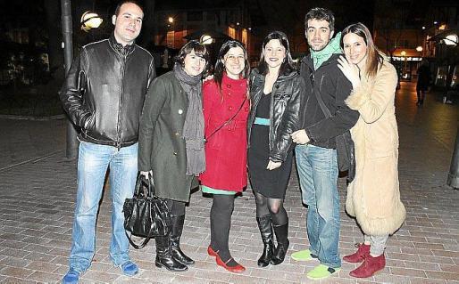 David Ferri, Rebeca López, Enric González, Nadir Peressini, Pedro Victory y Virginia Ribas.