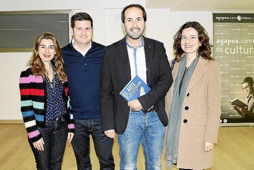 Laura Calvo, Blas Peralta, Antoni Fernández- Coca y Margarita Tarabini.