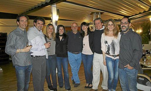 Jesús Montesinos, Carlos Anglada, Marta Sánchez, Emma Escandell, Isi de Miguel, Sonia Martínez, Toni Enseñat, Teresa Tena y Juan Pérez.