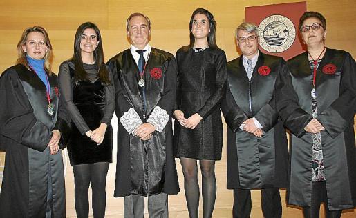 Bruna Negre, Gloria Juan, Martín Alenyar, Sara Castro, Miguel Cerdá y Regina Vallés.