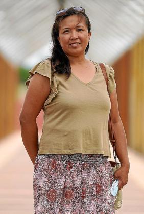 María Cristina Tuazon Tubat Portavoz de Unión Filipina de Ibiza y Formentera.